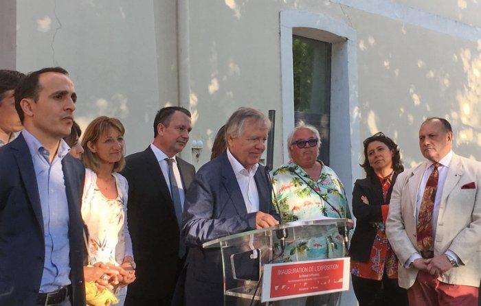 Inauguration Esplanade Pierre Boncompain