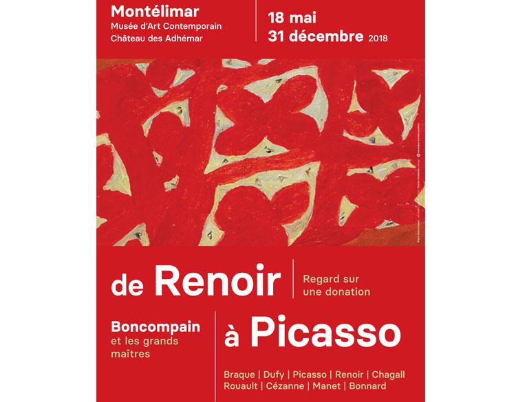 Exposition Pierre Boncompain : de Renoir à Picasso
