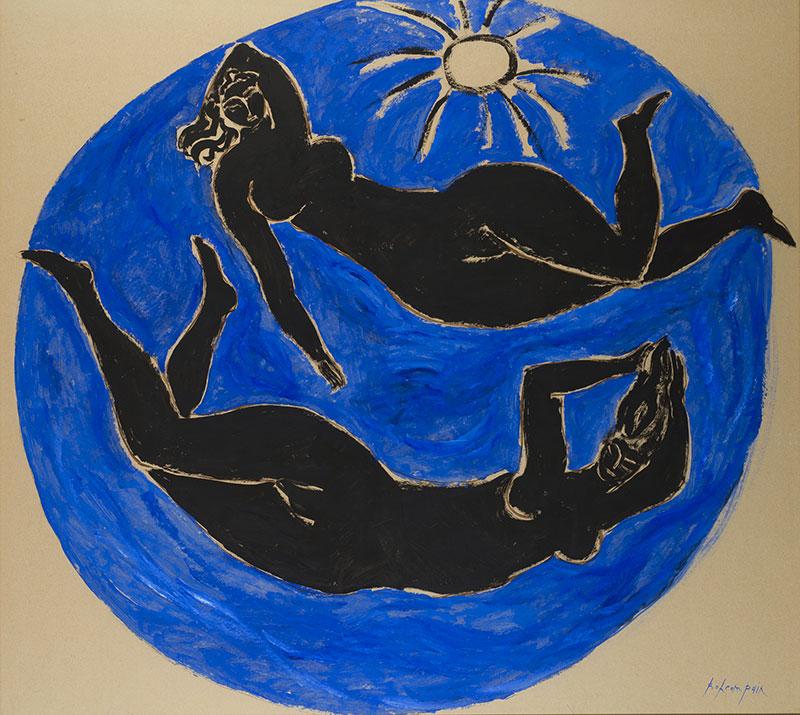 Pierre Boncompain - Baigneuses au soleil