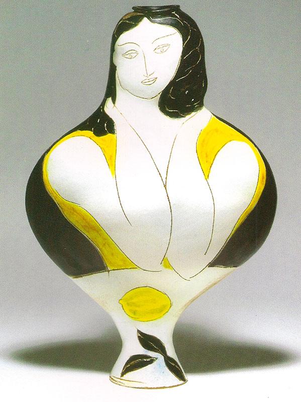 Pierre Boncompain - Femme au citron