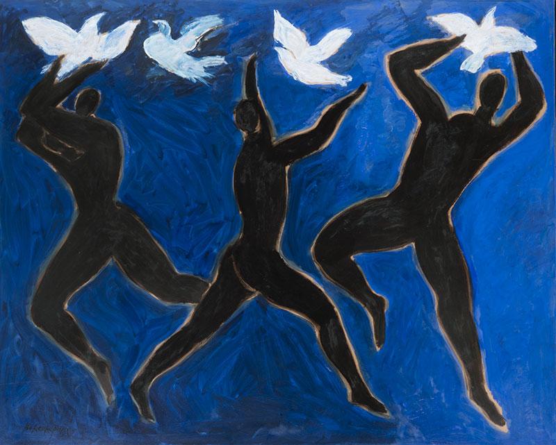 Pierre Boncompain - L'envol des colombes