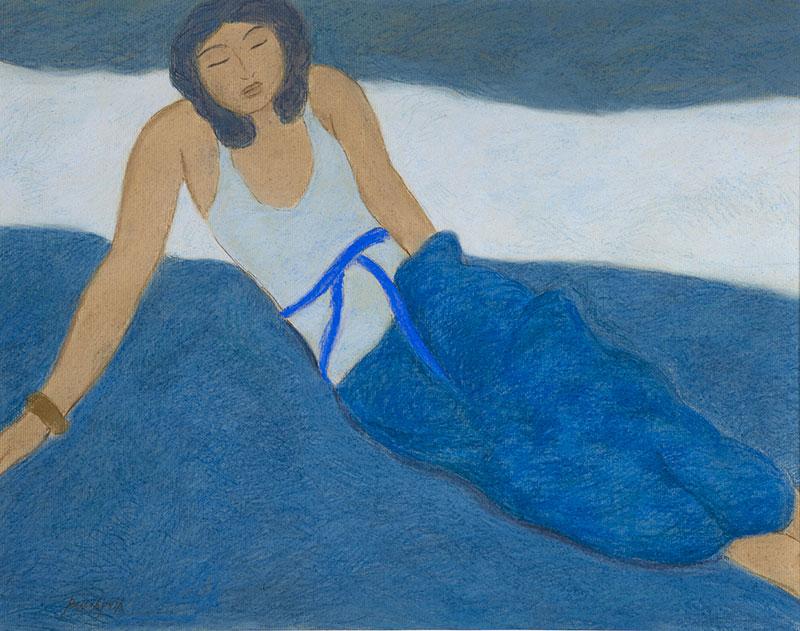Pierre Boncompain - L'ombre bleue