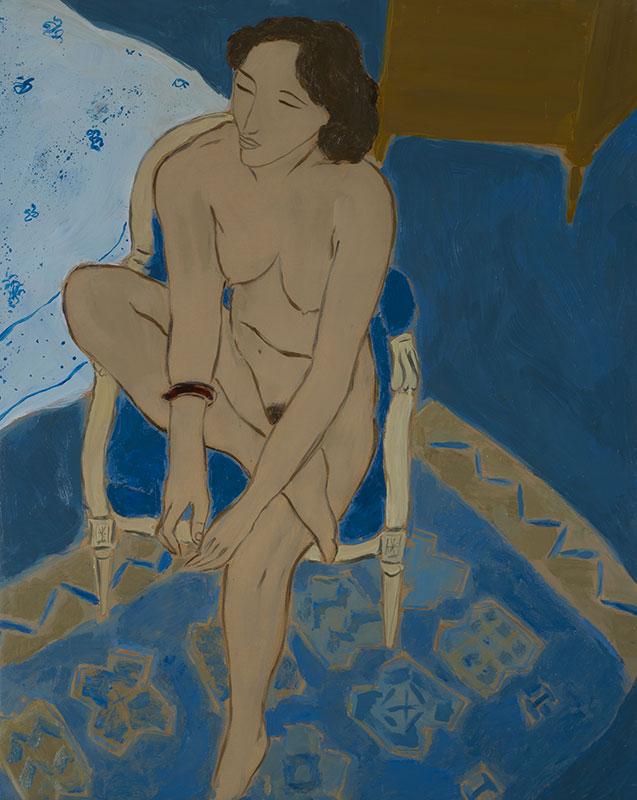 Pierre Boncompain - La chambre bleue