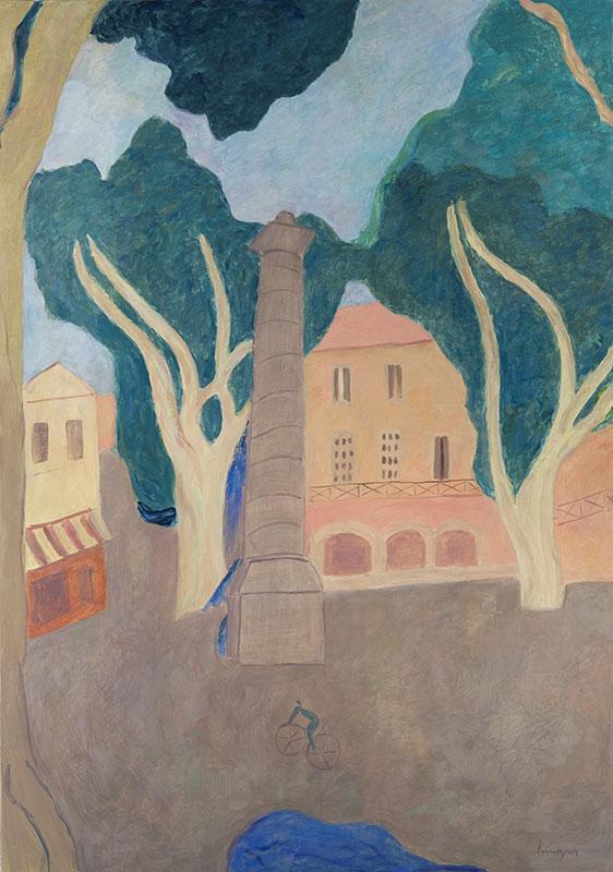 Pierre Boncompain - La fontaine du Vaucluse - 162 x 114 cm