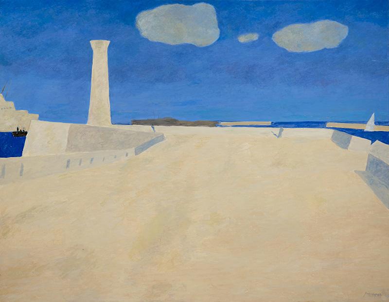 Pierre Boncompain - La Jetée - 114 x 146 cm
