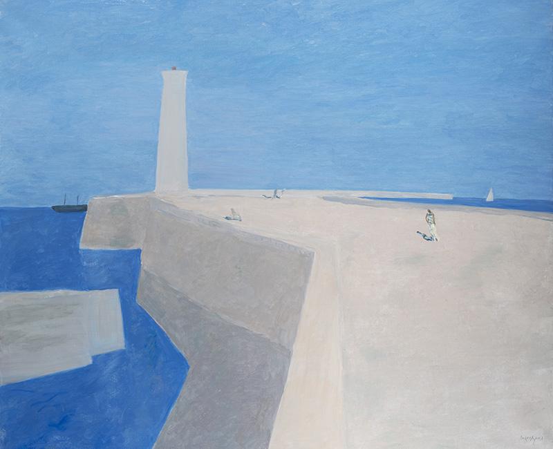 Pierre Boncompain - La Jetée 2 - 121 x 146 cm