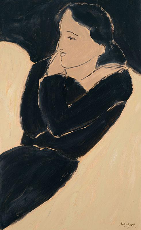 Pierre Boncompain - La robe noire