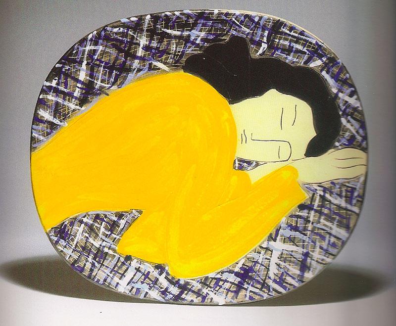 Pierre Boncompain - Le corsage jaune