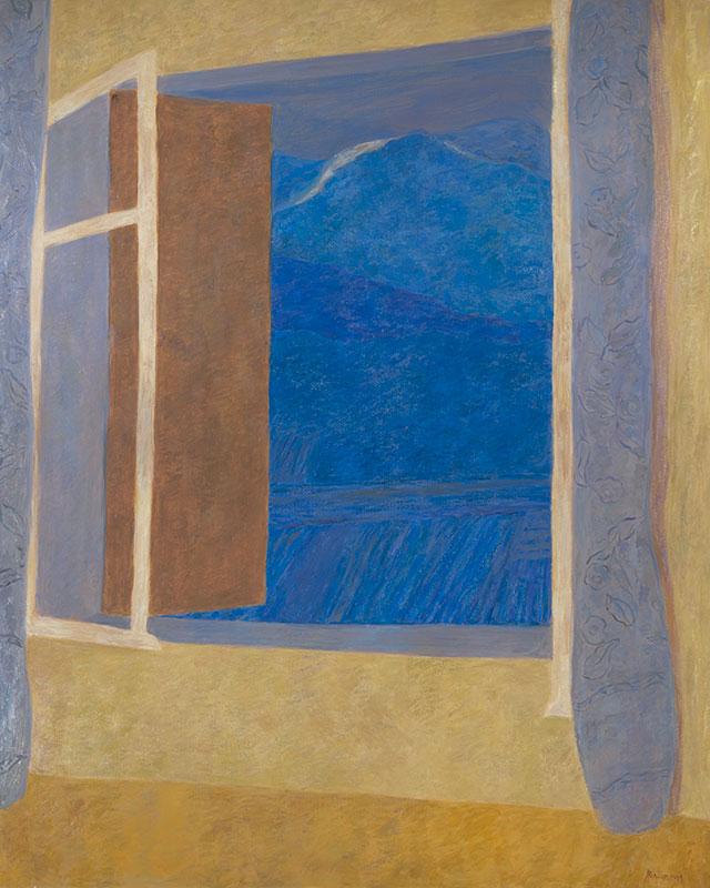 Pierre Boncompain - Le Mont Ventoux - 162 x 130 cm