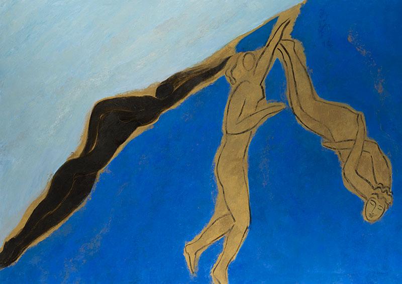 Pierre Boncompain - Nager dans le bleu