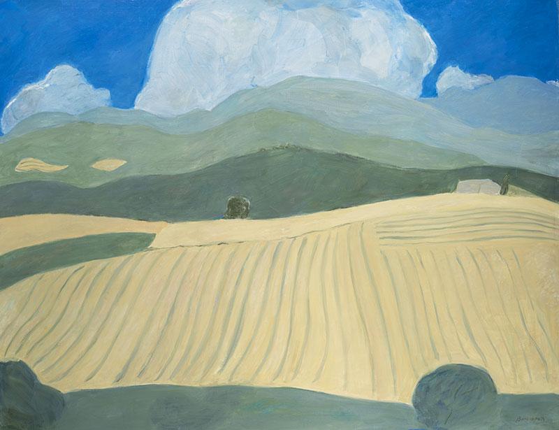 Pierre Boncompain - Nuage d'été - 114 x 146 cm