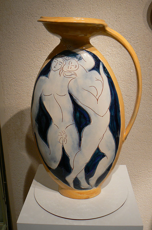 Pierre Boncompain - Vase Europe recto