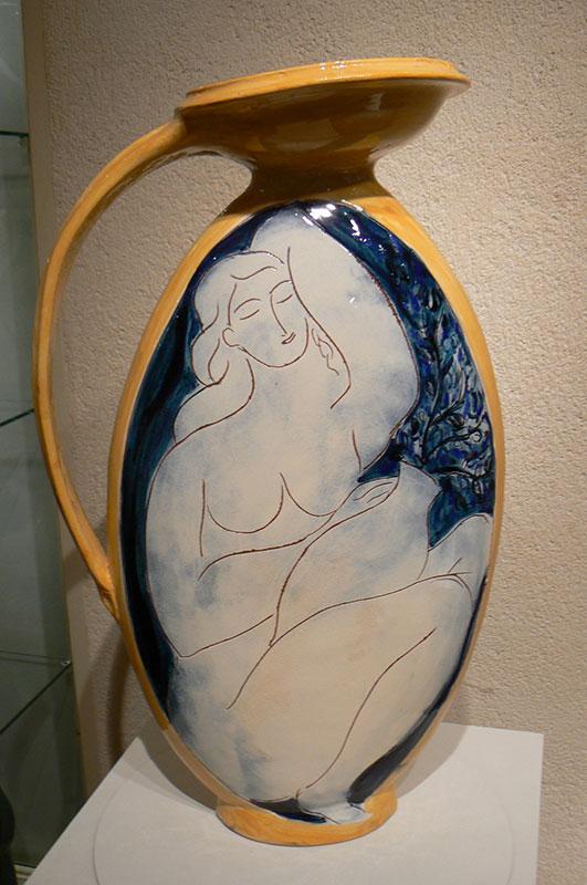 Pierre Boncompain - Vase Europe verso