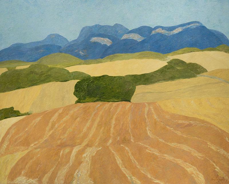 Pierre Boncompain - Vercors bleus - 130 x 162 cm