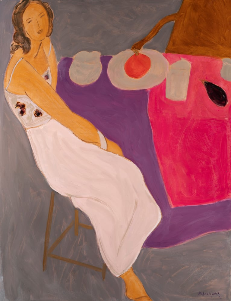Pierre Boncompain - La robe blanche et le potimaron